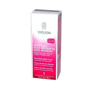 Weleda Smoothing Night Cream Wild Rose - 1 Fl Oz