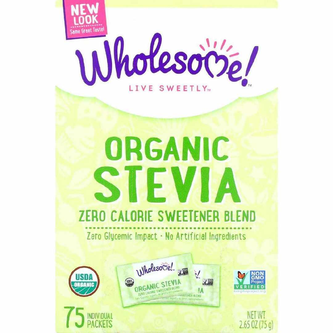 Wholesome Sweeteners Stevia - Organic - 75 Count - Case Of 6