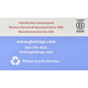Gladrags Color Cotton Night Pad - 1 Pack (Reusable Sanitary Napkin)
