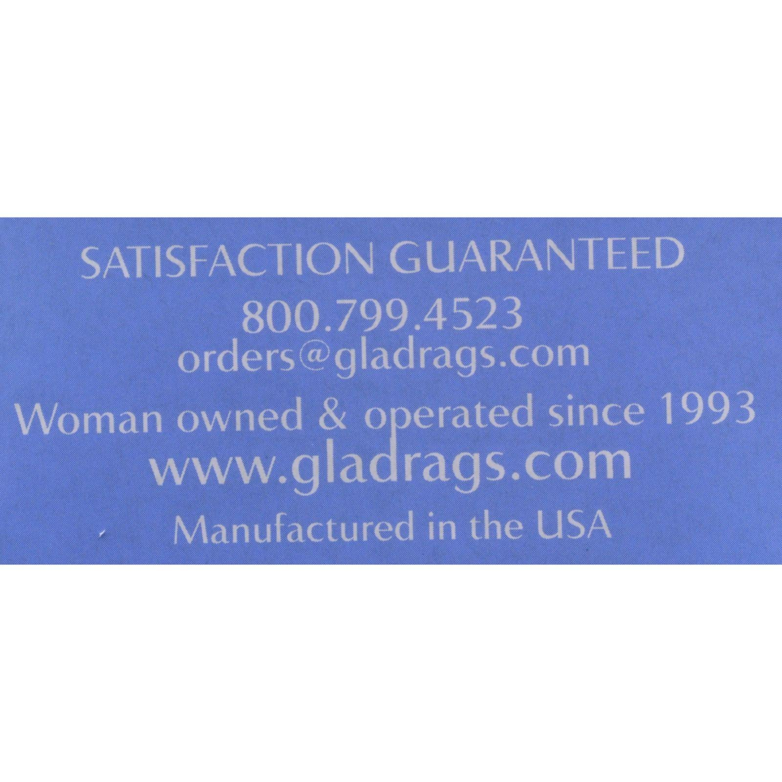 Gladrags Organic Cotton Day Pad - Undyed - 3 Pack (Reusable Sanitary Napkin)