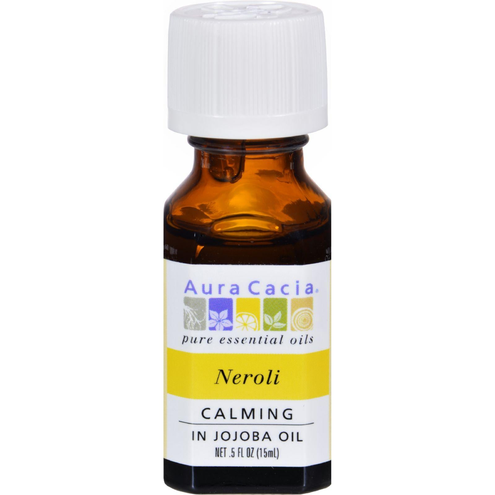 Aura Cacia Neroli In Jojoba Oil - 0.5 Fl Oz
