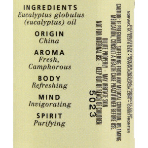 Aura Cacia Essential Oil Eucalyptus Pure - 2 Fl Oz