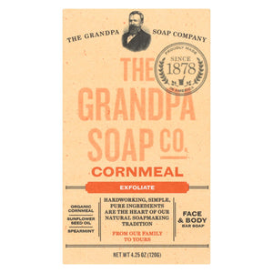 Grandpa Soap Soap - Cornmeal - 4.25 Oz