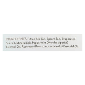 Soothing Touch Bath Salts - Peppermint Rosemary - 32 Oz