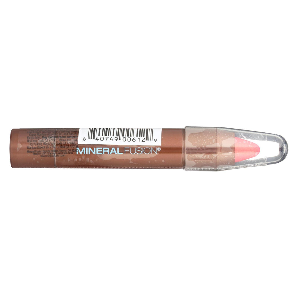 Mineral Fusion - Sheer Moisture Lip Tint - Shimmer - 0.1 Oz.