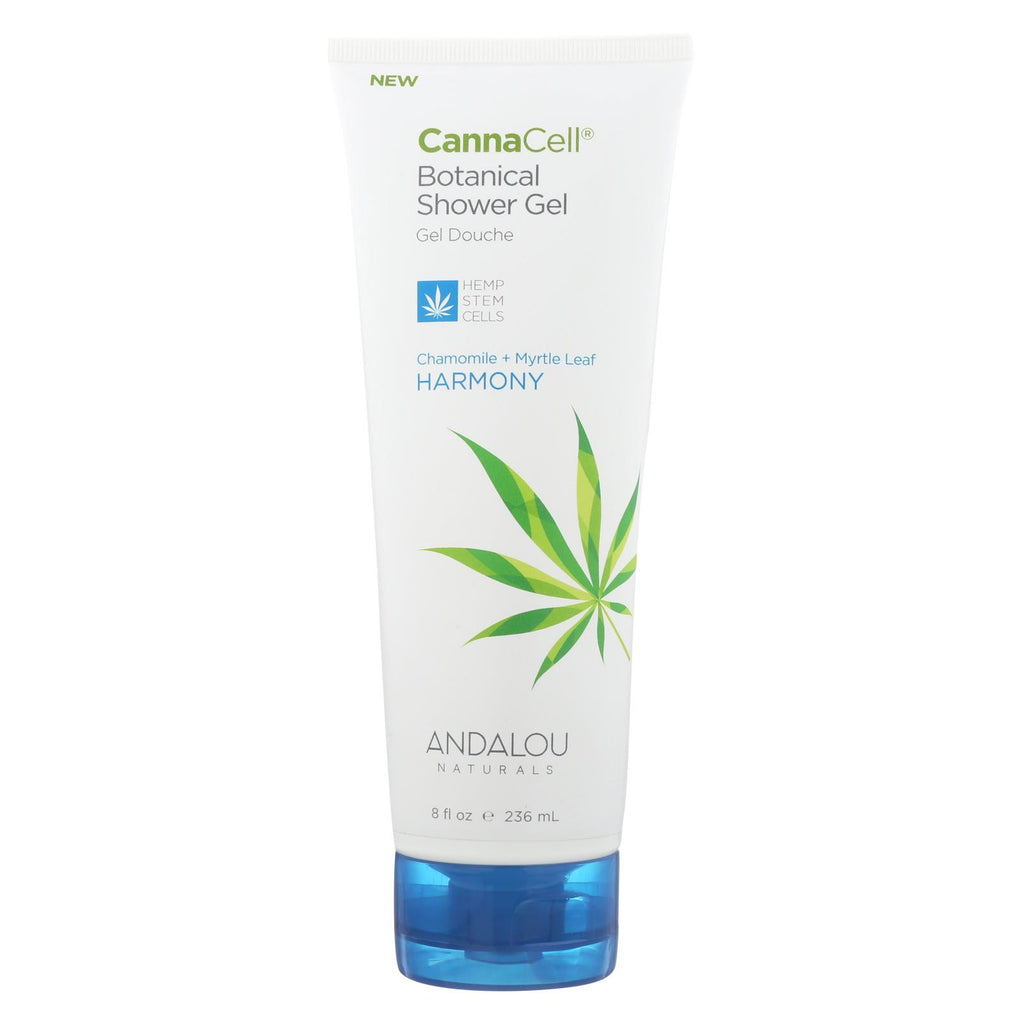 Andalou Naturals Shower Gel Chamomile + Myrtle Leaf - 1 Each - 8 Fl Oz.