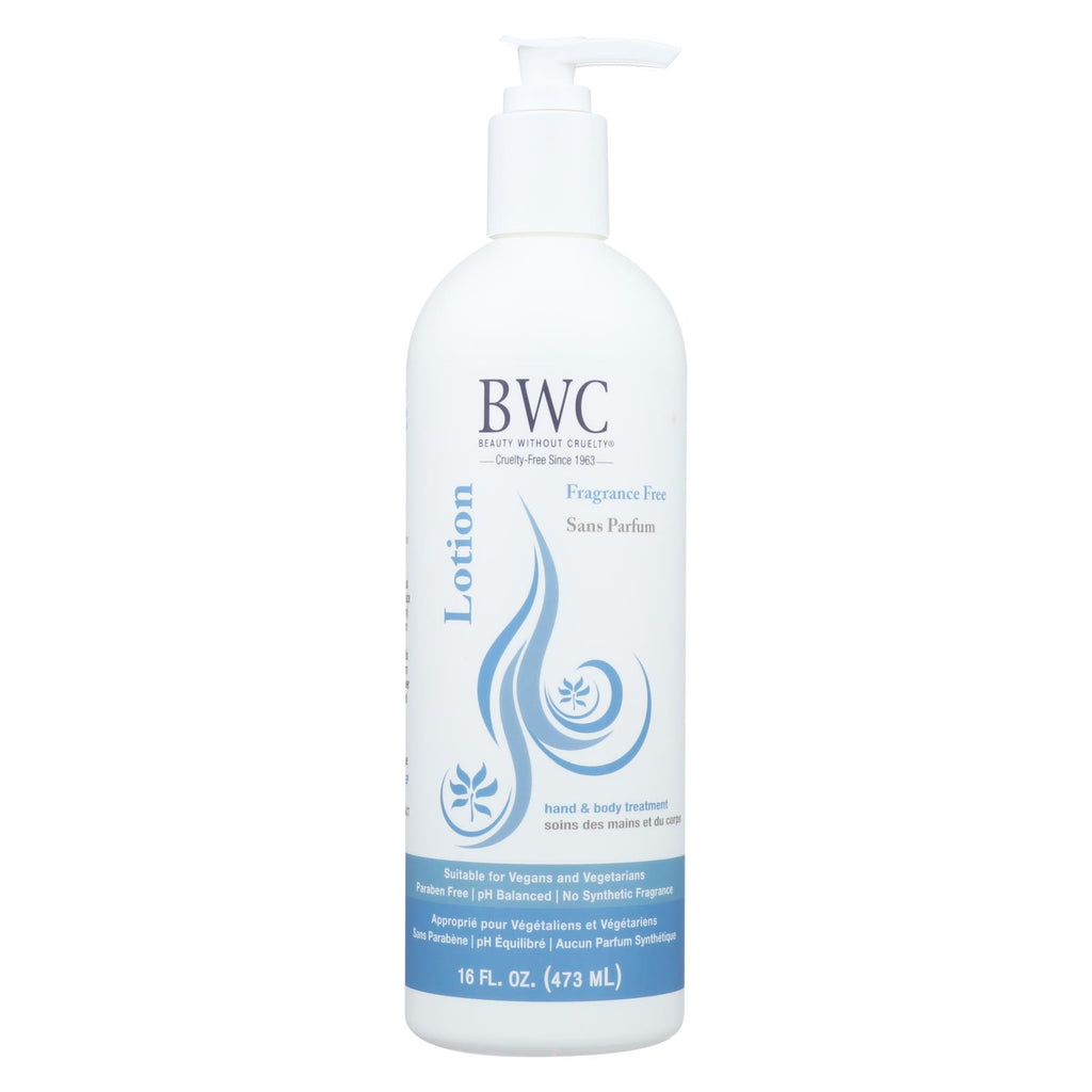 Beauty Without Cruelty - Body Lotion - Fragrance Free - 16 Fl Oz.