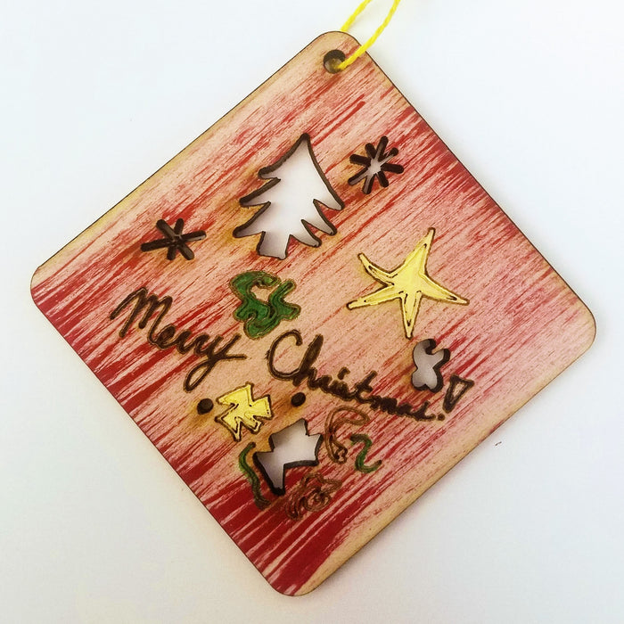 Workshop: Laser Cut Holiday Ornaments
