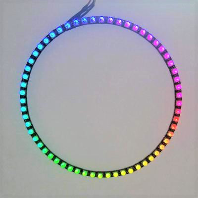 60 LED Circle - 1/4 - WS2812 - TinkerTech