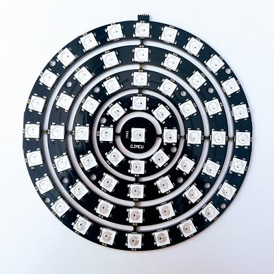 61 LED Multi Ring; Programmable/Addressable - TinkerTech