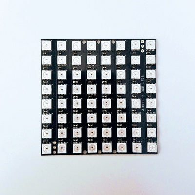 8x8 Programmable/Addressable RGB LED Matrix - TinkerTech