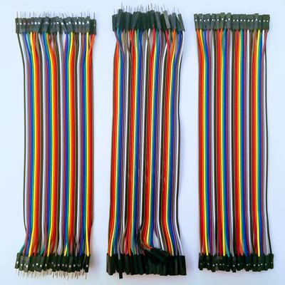 Dupont Cable - M/M, M/F, F/F - 3 Pack - TinkerTech