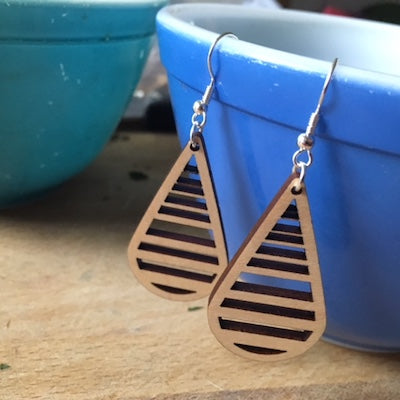 Workshop: Custom Laser Cut Make & Take Jewelry (2 Hours) - TinkerTech