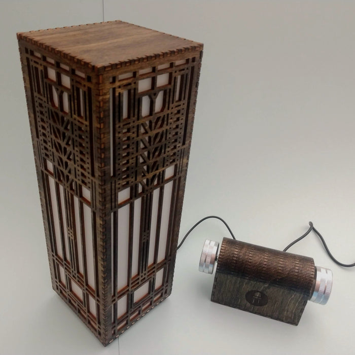 Frank Lloyd Wright Lamp and Controller - TinkerTech