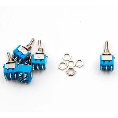 Mini Toggle Switch - DPDT - TinkerTech