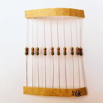 Resistor - 1/4W, 5%, Through Hole - TinkerTech