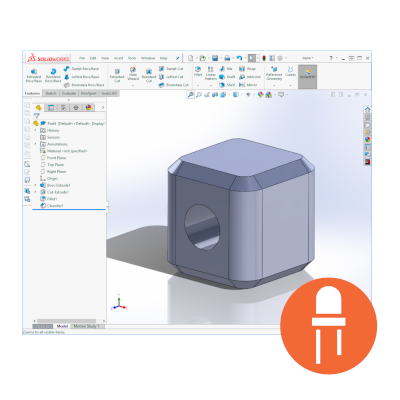 Workshop: Intro to SolidWorks (3D CAD) - TinkerTech