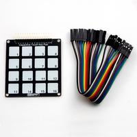 16 Key Capacitive Touch Pad - Module - TinkerTech