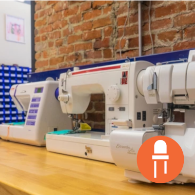Workshop: Introduction to Machine Sewing - TinkerTech