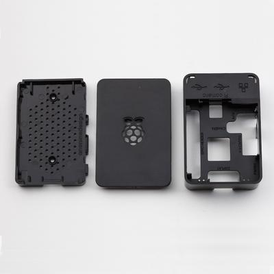 Raspberry Pi Case - Black - TinkerTech