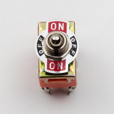 Toggle Switch - DPDT, On / Off / On - TinkerTech