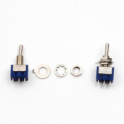 Mini Toggle Switch - SPDT, On / Off / On - TinkerTech