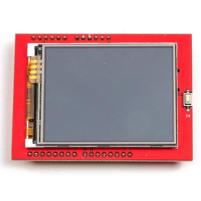 "Arduino Compatible 2.4"" TFT Touch Screen Shield - TinkerTech"