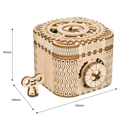 Laser Cut Kit: Treasure Box