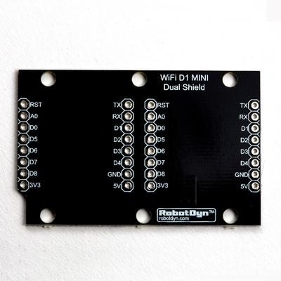 WeMos Dual Expansion Shield - TinkerTech