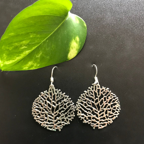 Stunning silver earrings -Pimplepan - The Simple Flair