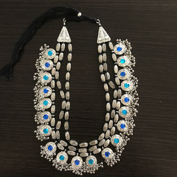 Rajnandini Oxidized Necklace - The Simple Flair