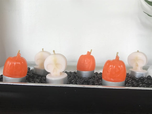 Halloween Candles - Set of 6 - The Simple Flair