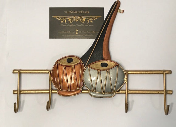 Indian Instruments: Key Holder - The Simple Flair