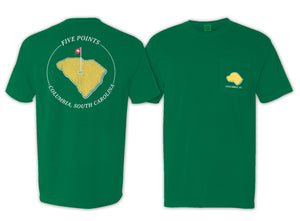 5 Points Clubhouse Pocket Tee