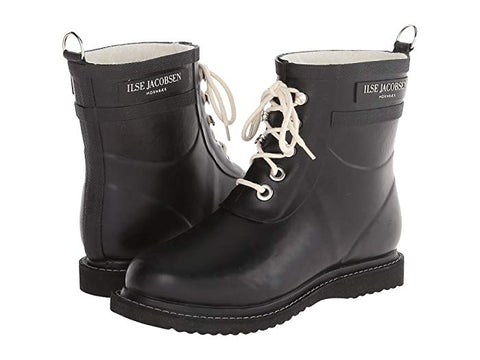 Shop Ilse Jacobsen Black Short Rain Boot - Malvern Saddlery