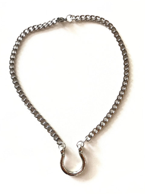 Fearless Good Luck Horseshoe Necklace