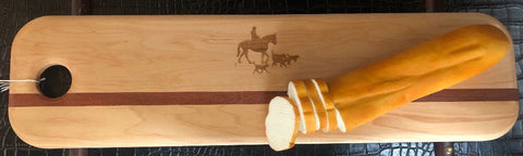 Wood Baguette Board - Malvern Saddlery
