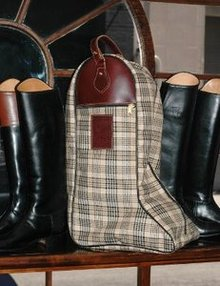 Shop Baker Plaid Boot Case - Malvern Saddlery