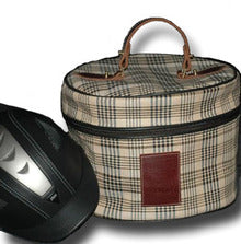 Baker Plaid Hat Case - Malvern Saddlery