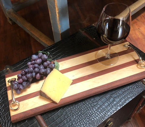 Equestrian Wood Serving Board - Malvern Saddlery