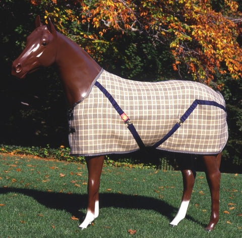 Shop Curvon Traditional Plaid Heavy Turnout - Malvern Saddlery