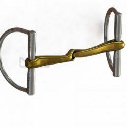 Neue Schule Demi Anky Hunter D-Ring Bit - Malvern Saddlery