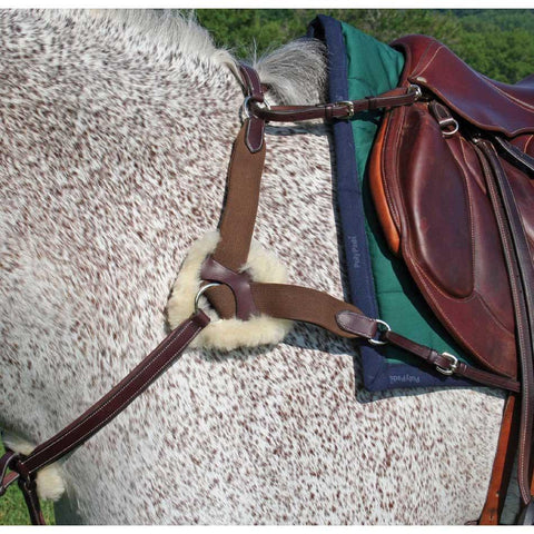 Five Way Breastplate - Malvern Saddlery