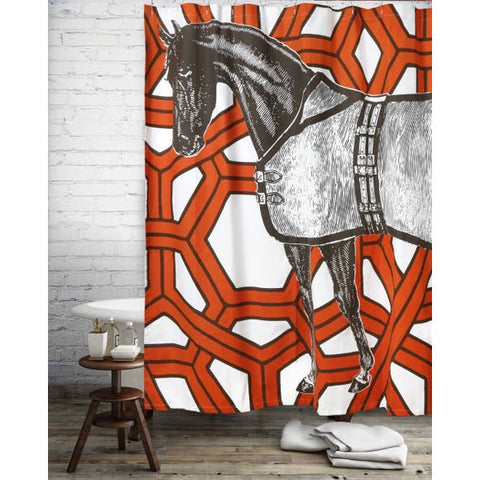 Shop Equestian Shower Curtain - Malvern Saddlery