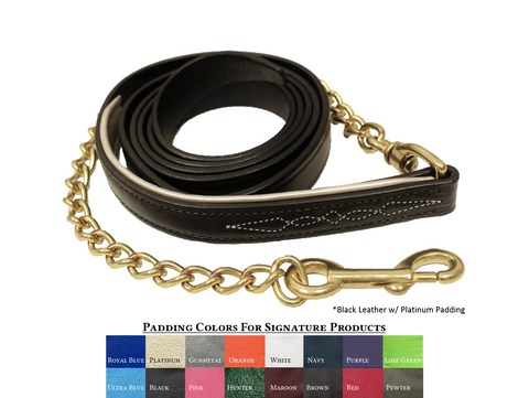 Walsh Fancy Padded Lead - Malvern Saddlery