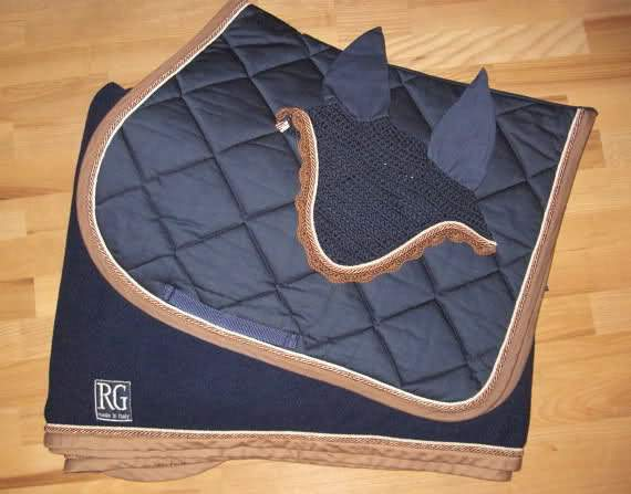 RG Italy Custom Saddle Pad - Malvern Saddlery