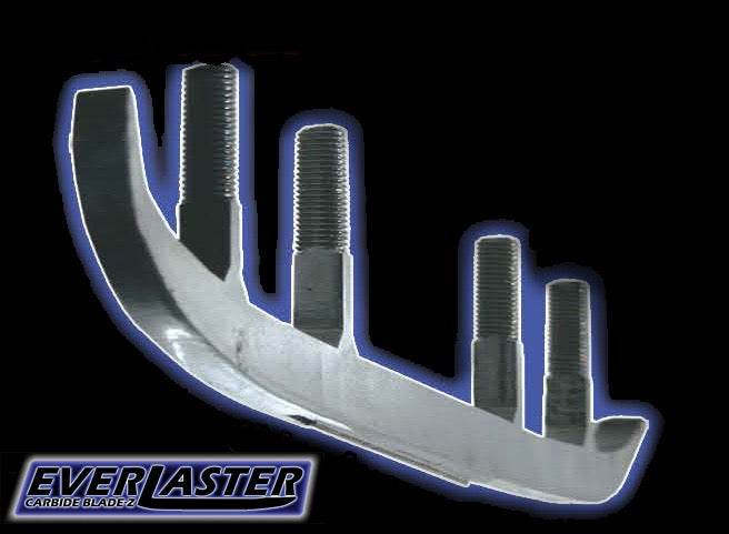 19203 Ski Doo EverLaster Carbide Blade-Z 93-96 Steel Bridged skis