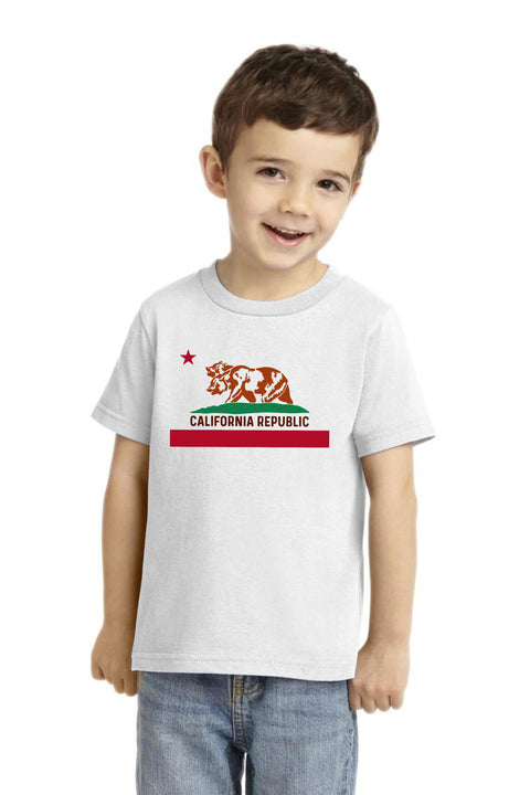 Kids California Football FIFA World Cup 2018 T Shirt