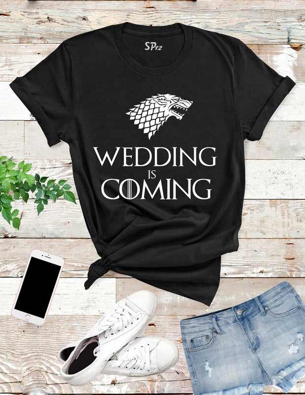 Game-of-Thrones-Wedding-is-Coming-T -Shirt-Black