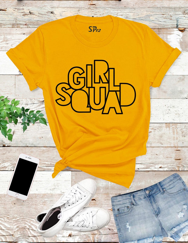Girl-Squad-T-Shirt-Gold